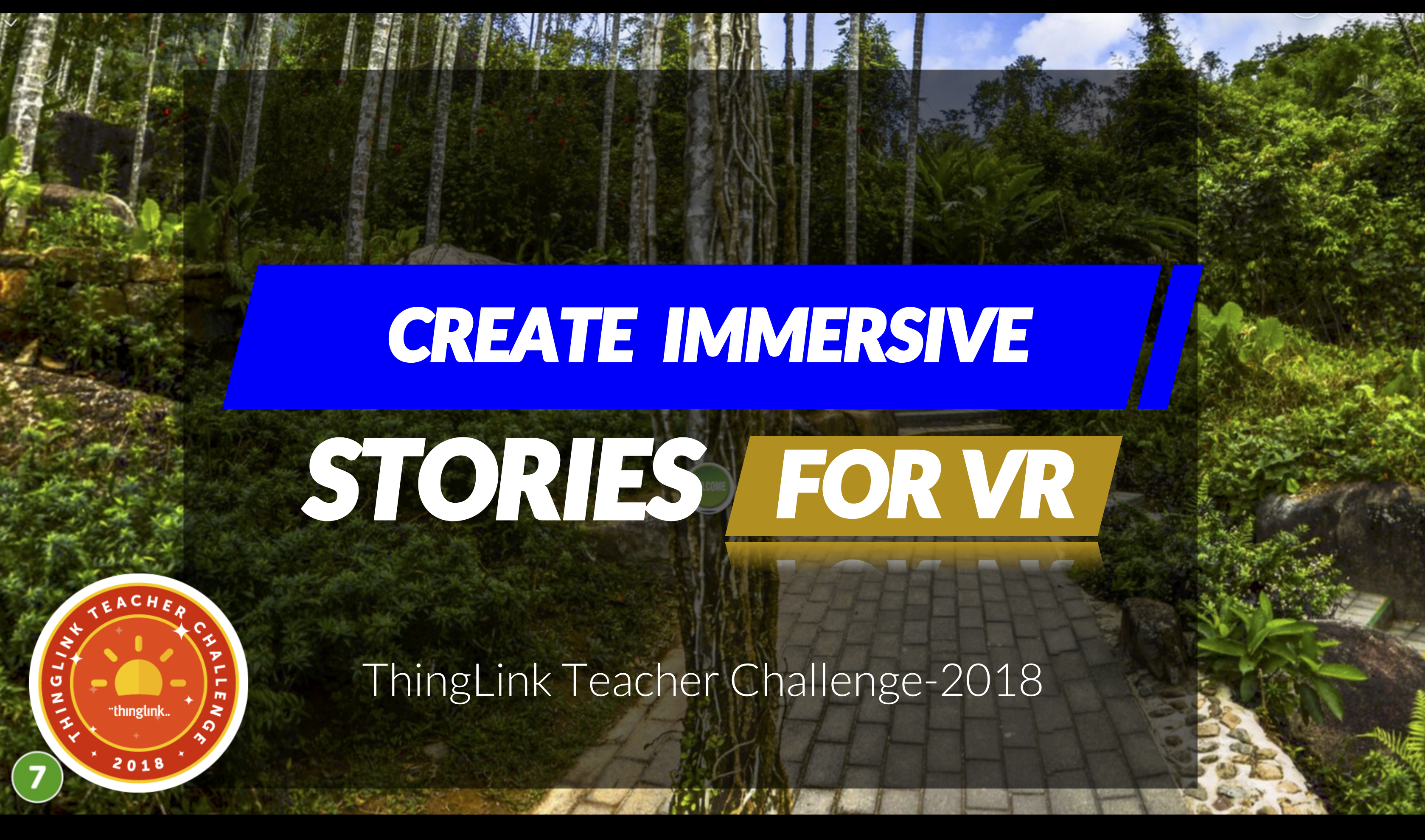 Create Immersive Stories for VR